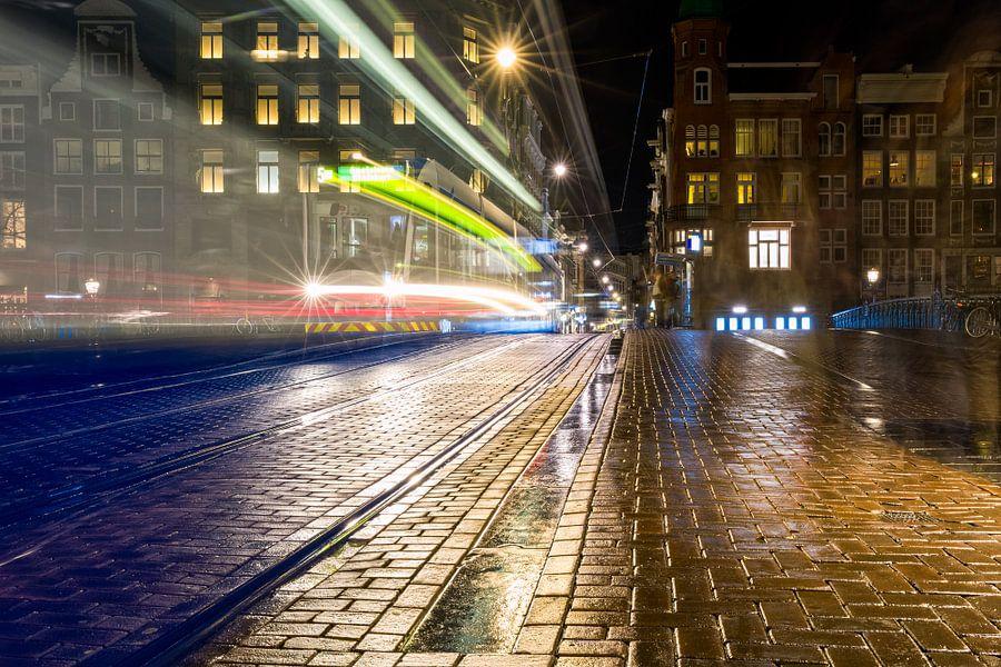 Trespassing Leidsestraat - Amsterdam van Thomas van Galen