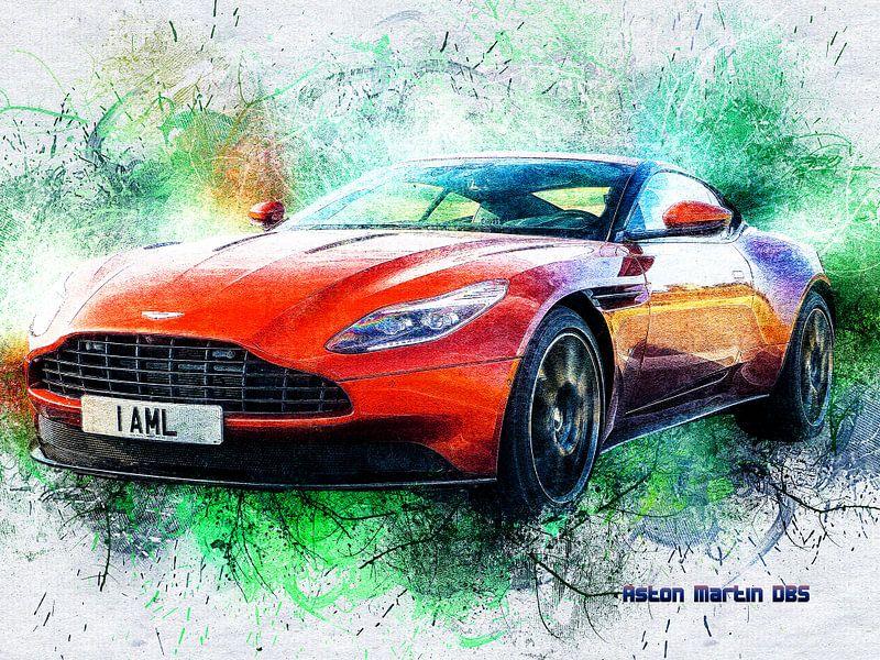 Aston Martin von Printed Artings