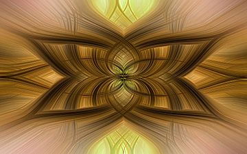 Abstracte bewerking van Marga Vroom