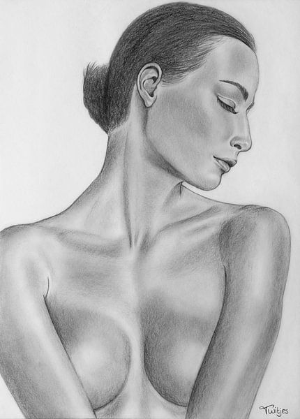 Naakte vrouw