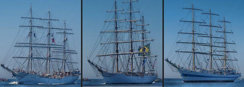 drei Vollschiffe von Peter Morgenroth