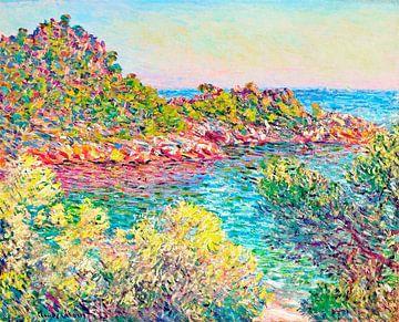 Landschaft in der Nähe von Monte Carlo, Claude Monet