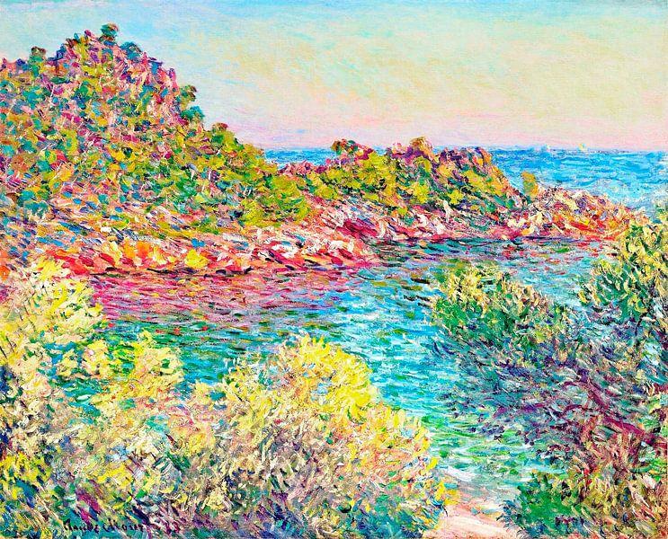 Landschap bij Monte Carlo, Claude Monet van Meesterlijcke Meesters