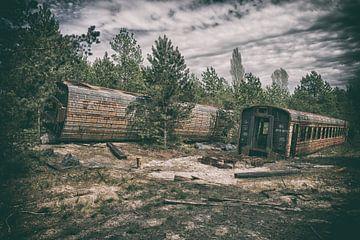 Tschernobyl-Zug 1 von Kirsten Scholten