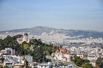 Skyline d'Athènes sur Maartje Abrahams