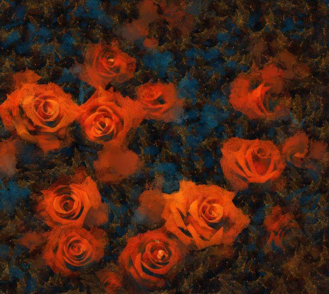 Roses van Jacky Gerritsen
