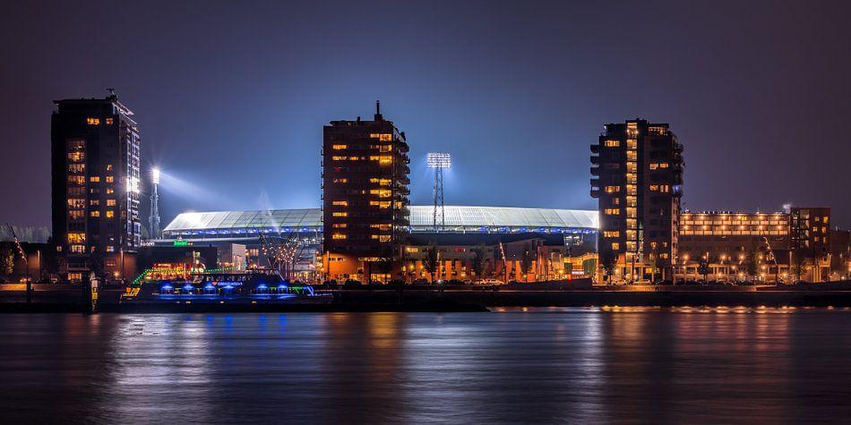 De Kuip / Het Feyenoord stadion van Evert Buitendijk