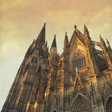 Kölner Dom Südportal und Glockenturm von Dirk Wüstenhagen