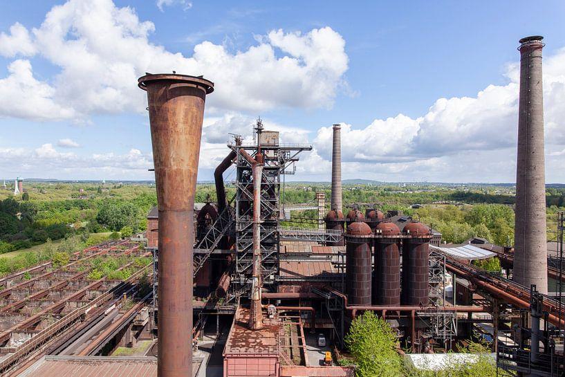 Übersicht Landschaftspark Duisburg-Nord von Andrew van der Beek