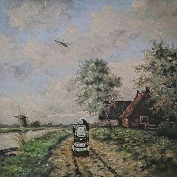 Auf dem Weg ins Nirgendwo von Ruben van Gogh