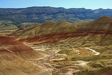 Painted Hills, Oregon von Jeroen van Deel