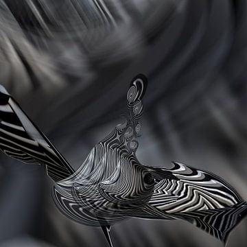 Hello Space Bird! van Rudi Lippi