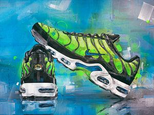 Nike air max TN schilderij van Jos Hoppenbrouwers