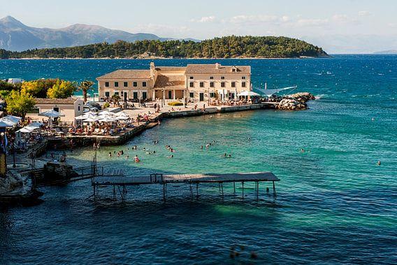 Corfu Town van Anja Spelmans