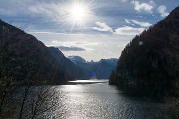 Uitzicht Königssee von Marjolijn Barten