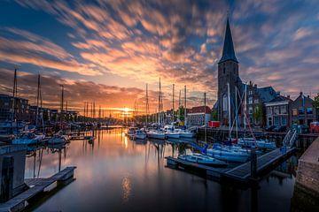 Harlingen, Zuiderhaven von Edwin Kooren