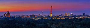 Berlin Skyline au lever du soleil