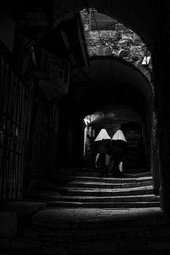 Nonnen von Fotografie door Menno