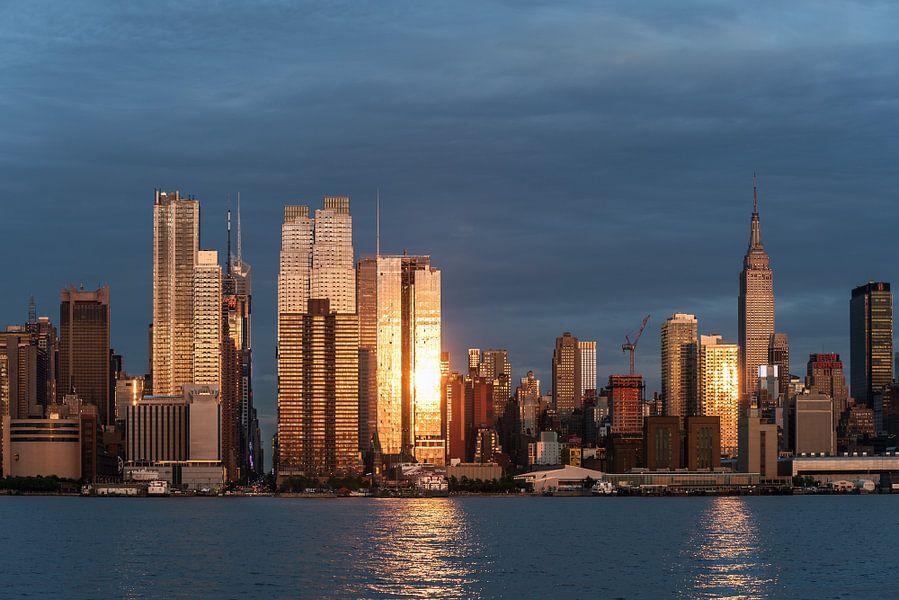 New York  Blaue Stunde