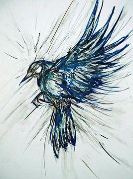Ansicht aus der Vogelperspektive. von Ineke de Rijk