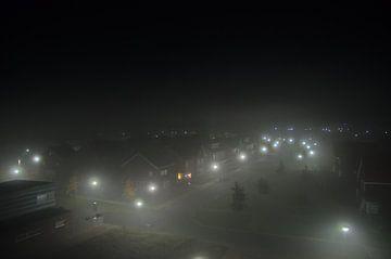 Stad in Mist van