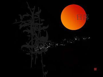 zonsondergang van Andreas Wemmje