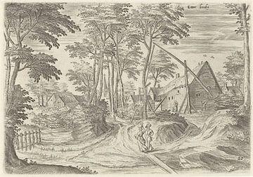 Hans Collaert (I), Gezicht op Etterbeek van Atelier Liesjes