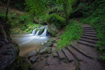 Schiessentümpel waterval van Elroy Spelbos