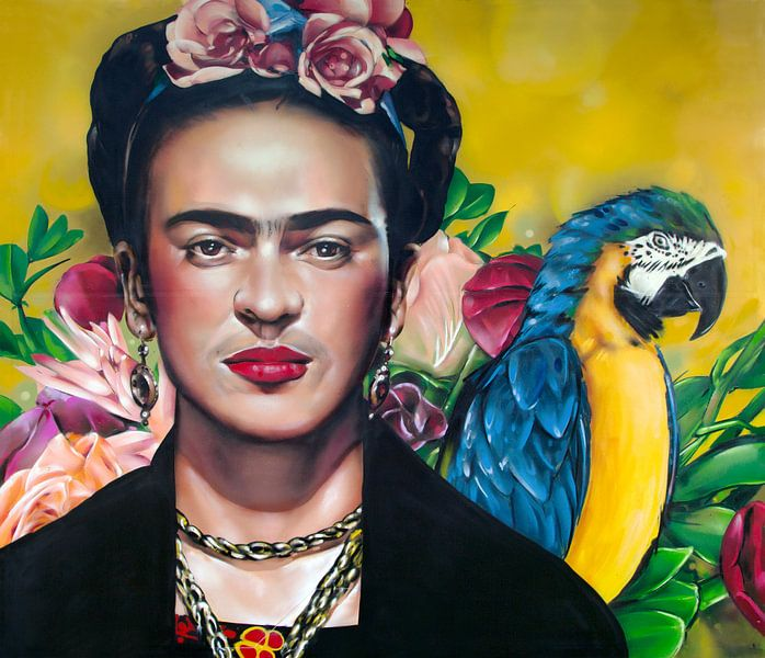 Frida -Gemälde von Jos Hoppenbrouwers
