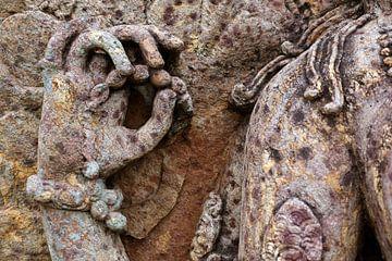 gedetailleerd beeldhouwwerk uit 1250 van Affect Fotografie