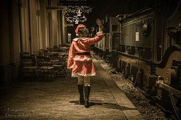 Goedbye kerstvrouw van Danny van Kolck