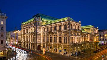 Wiener Staatsoper, Wien, Österreich von Henk Meijer Photography