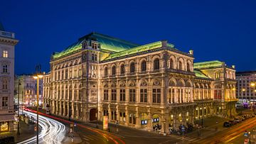 The Vienna State Opera, Vienna, Austria. van Henk Meijer Photography