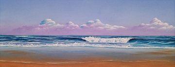Zomers strand van Ronald Boon