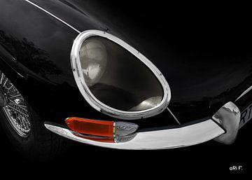 Jaguar E-Type Series 1 in darkblack von aRi F. Huber