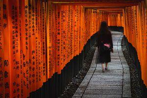 Fushimi Inari Taisha Shrine van Melanie Jahn