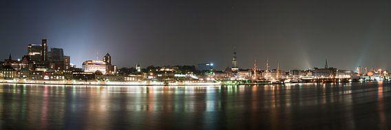 Hamburg Panorama van Borg Enders