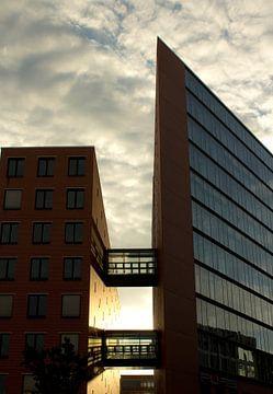 Flat gebouw in Berlijn van Ilse Schoneveld