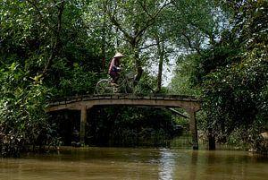 Brugje  over de Thu Bon rivier