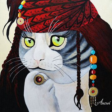 Kat van Iwona Sdunek alias ANOWI