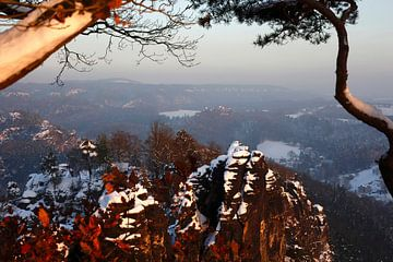Elbsandsteingebirge von Thomas Jäger