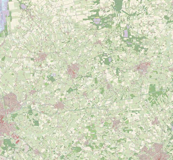 Kaart van Tubbergen