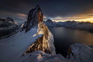 Segla Winter-Sonnenuntergang von Wojciech Kruczynski