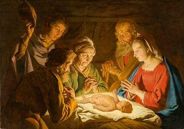 Die Anbetung der Hirten, Matthias Stom