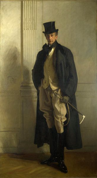 Heer Ribblesdale, John Singer Sargent - 1902 van Het Archief