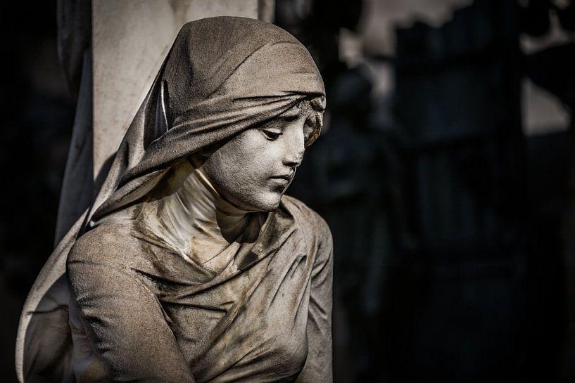 Image catholique de Marie sur Jan van Dasler