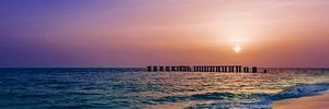 Gasparilla Island Sunset   Panorama
