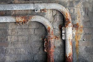 Minimalisme Art Photographie Tube rouillé