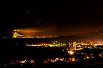 Mervilla aan de Costa del Sol Fuengirola en Gibraltar fotoposter of  wanddecoratie van Edwin Hunter