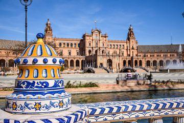 Plaza de España, Sevilla, Spanien von Maartje Abrahams